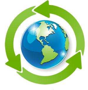 Cores Recycling Logo